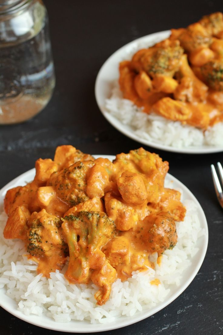 how to make butter chicken with curry powder