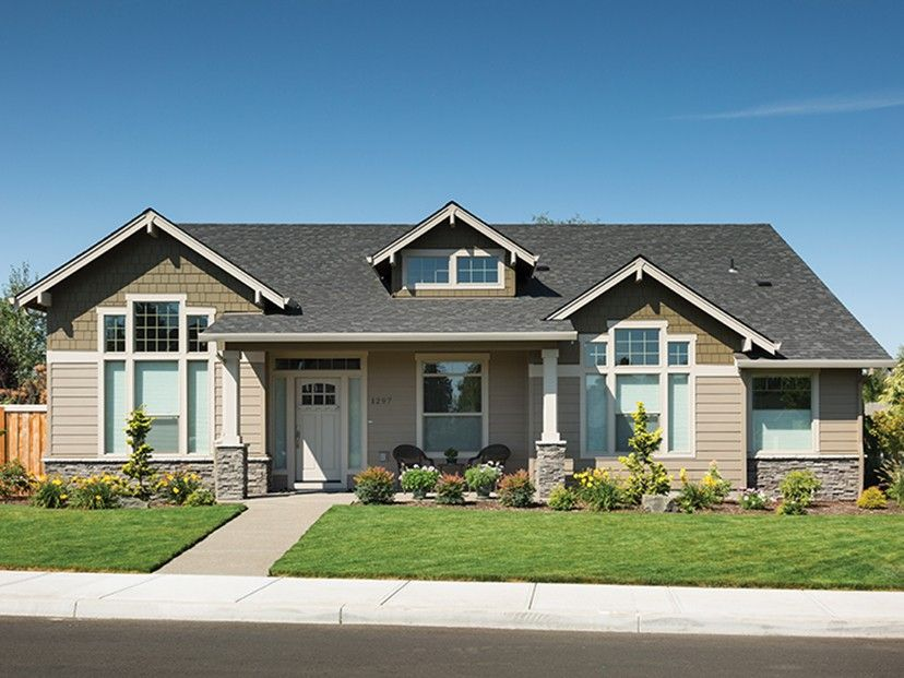 Craftsman House Plan with 2218 Square Feet