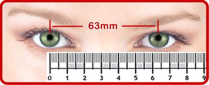 Measure Your P D Pupillary Distance Eyebuydirect Com Eyeglasses Measurements How To Measure Yourself