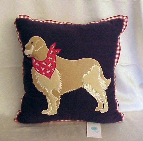 Martha Stewart Golden Retriever Dog 40 X 40 Square Decorative Amazing Martha Stewart Decorative Dog Pillows
