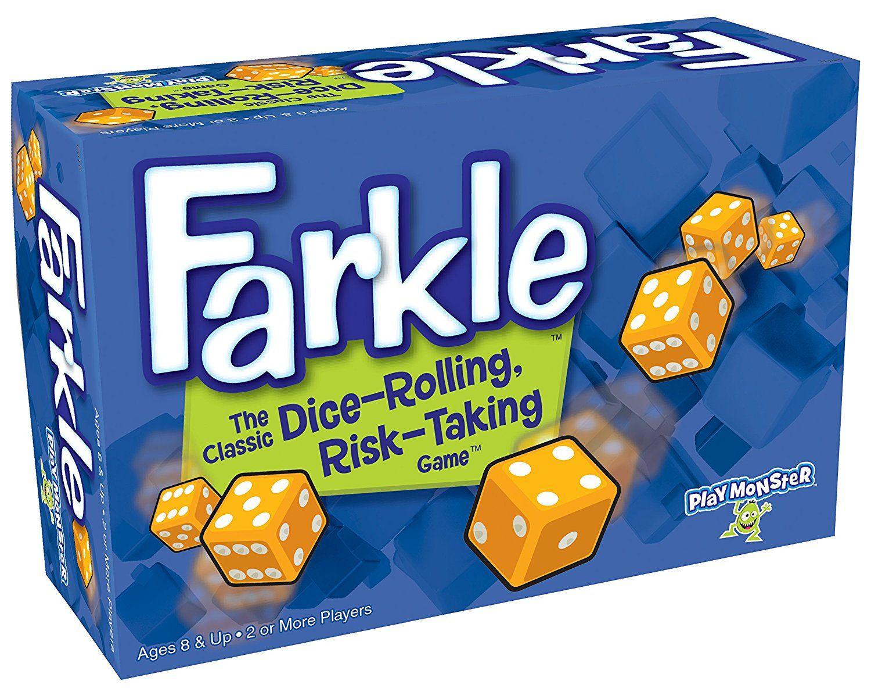 Amazon Farkle Dice Game 4 Dice Games Fun Board Games Games