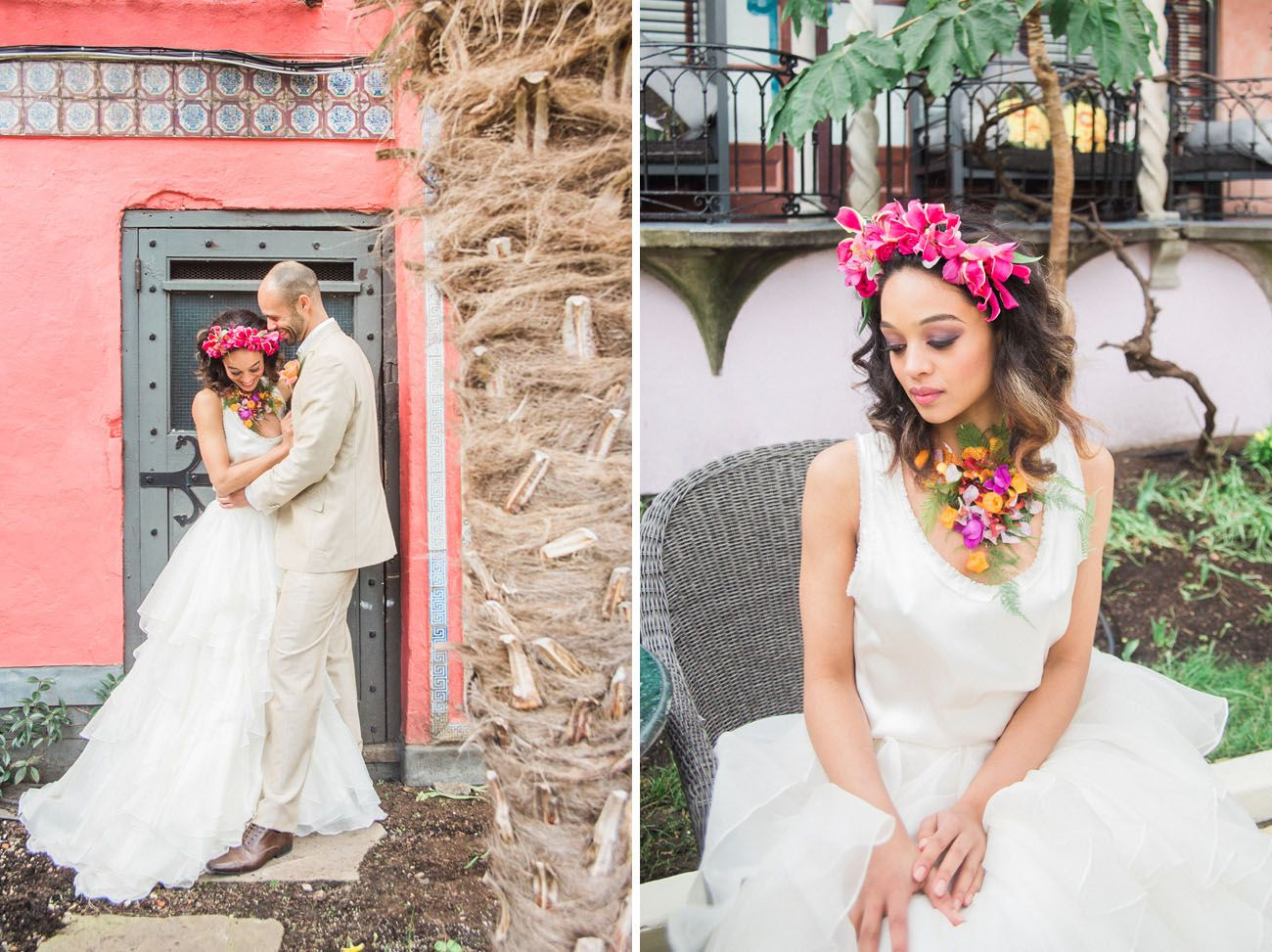 tropical vintage havana wedding inspiration | inspirational