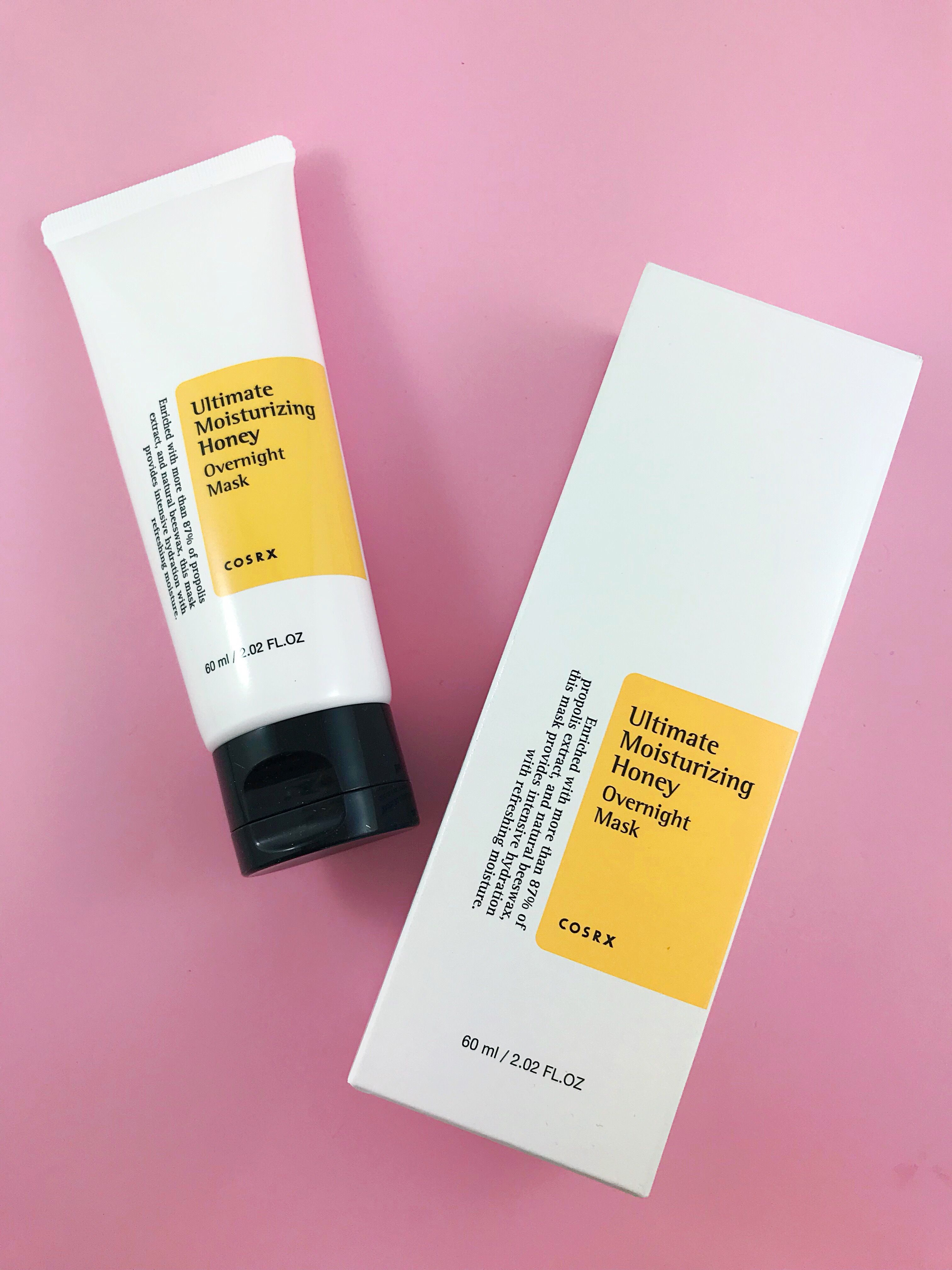 COSRX Overnight Honey Mask The Perfect Sleeping Mask for dry skin