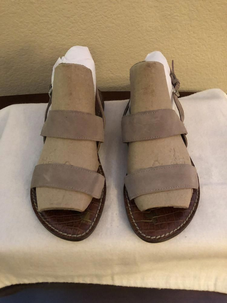 5a99e18d248 Sam Edelman Georgiana Taupe Suede Sandal Size 8  fashion  clothing  shoes   accessories  womensshoes  sandals (ebay link)  NikeWomensyogaShoes
