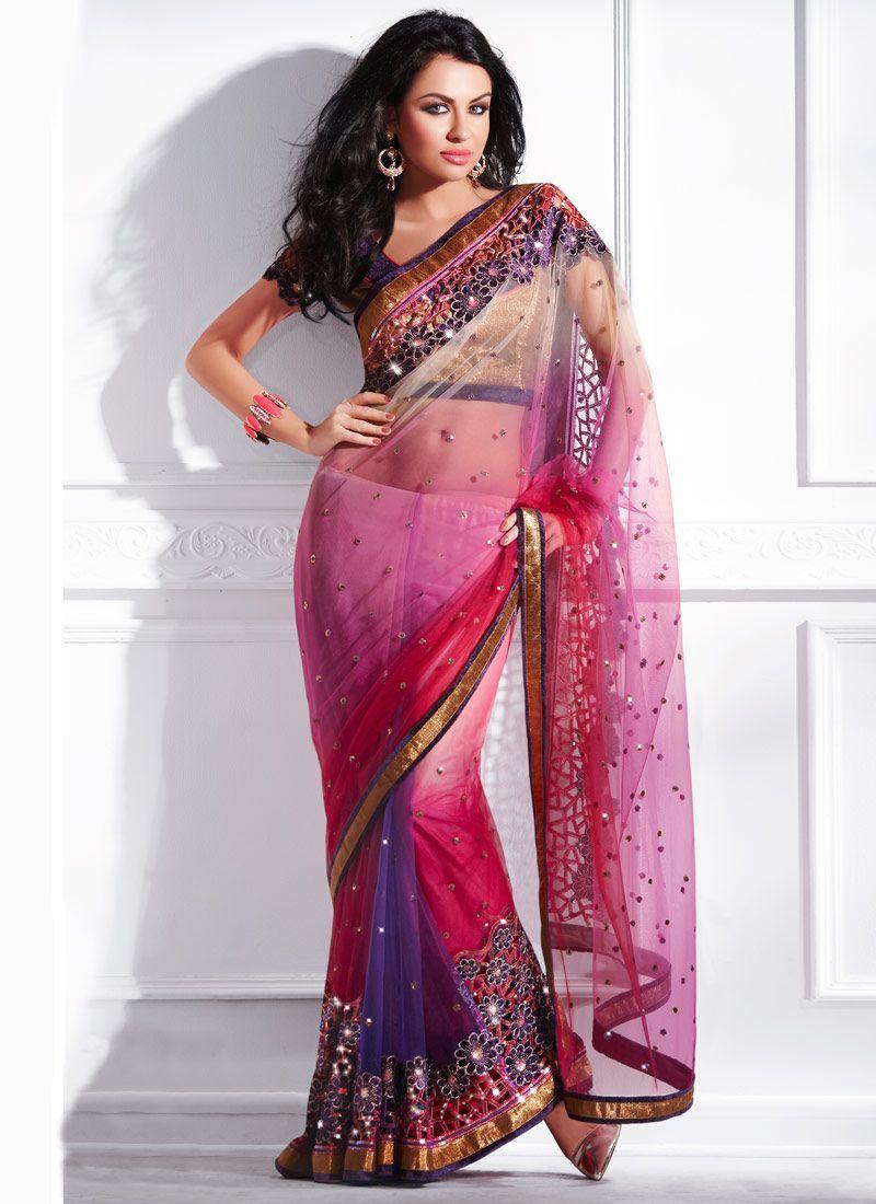 This is a beautiful Sari   Clothes   Pinterest   India, Vestidos de ...