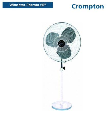 87282faf31d Buy High Quality Windstar Farrata Pedestal Fans Online in India by Crompton  Crompton offers energy efficient