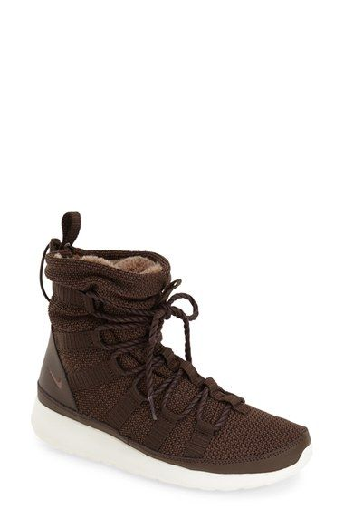 Nike  Roshe One Hi  Water Resistant Sneaker Boot (Women)  9991e933f