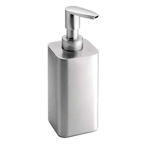 Interdesign Gia Stainless Steel Soap Lotion Dispenser For Kitchen Or Bathroom Soap Pump Dispenser Foam Soap Dispenser Soap Pump