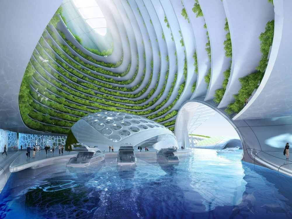 10 futuristic architecture projects