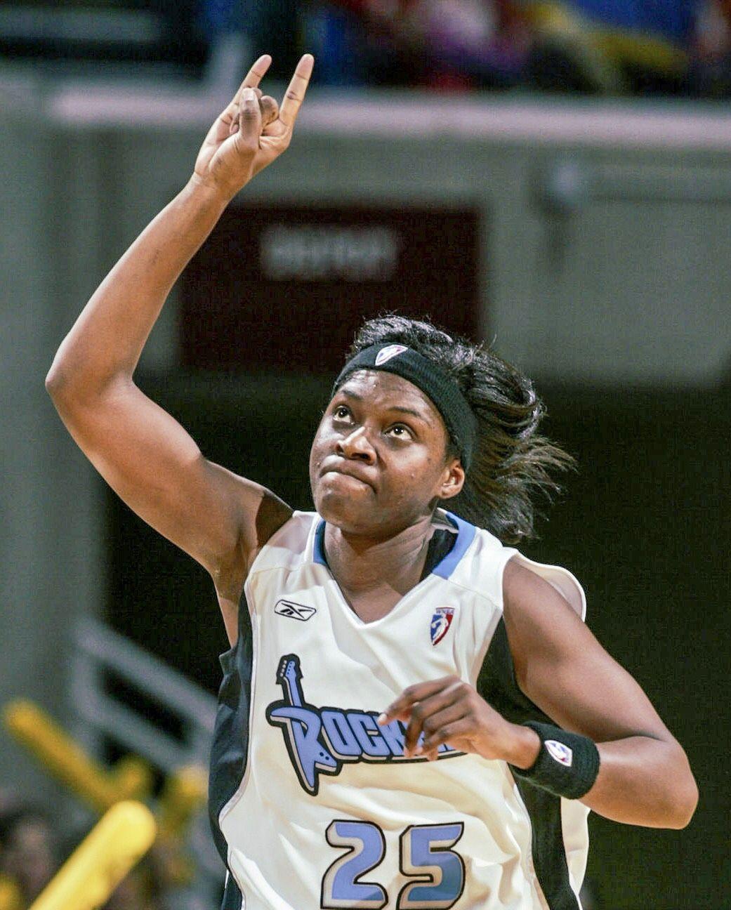 Merlakia Jones #25, Cleveland Rockers | Sports jersey, Rocker, Women