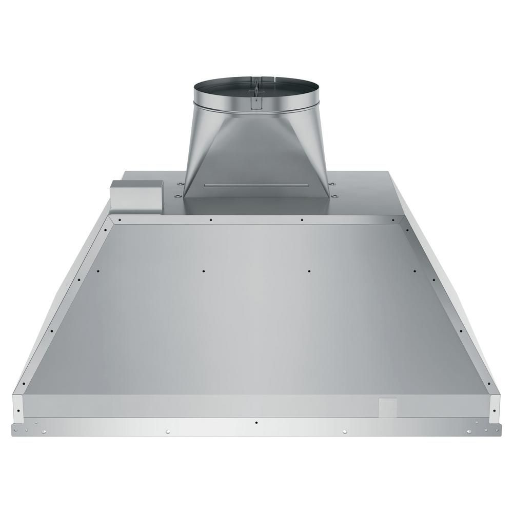 Ge 30 In Smart Insert Range Hood With Light In Stainless Steel Uvc9300slss Stainless Range Hood Range Hood Range Hood Insert