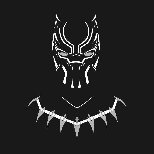 Check out this awesome black panther design on teepublic