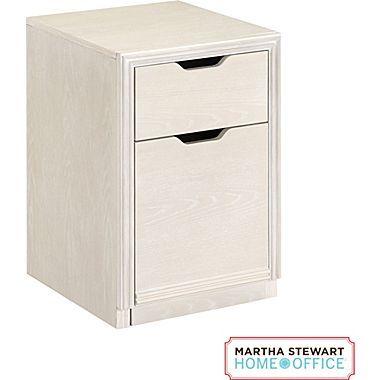 High Quality Martha Stewart Home Office Blair File, Sand Gray