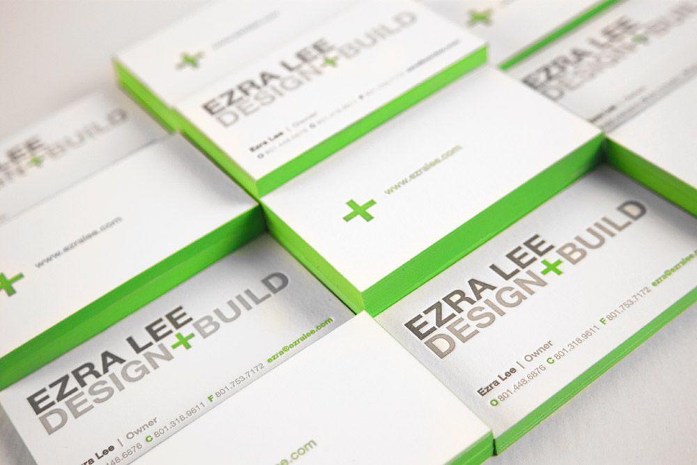 Letterpress edge print business cards ezra lee design build letterpress edge print business cards ezra lee design build colourmoves