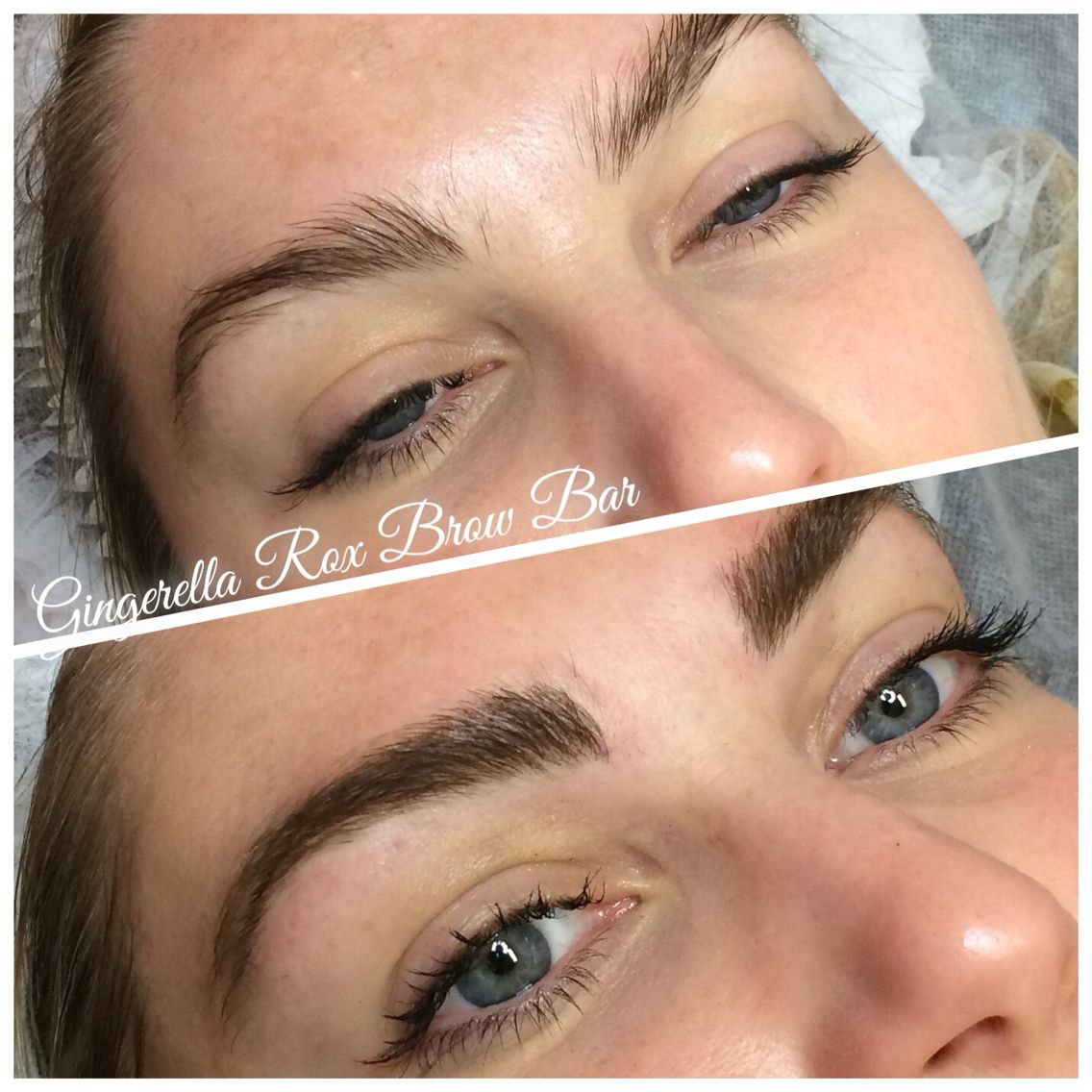 Full Feathery And Fluffy Feather Touch Brow Tattoos Gingerellarox