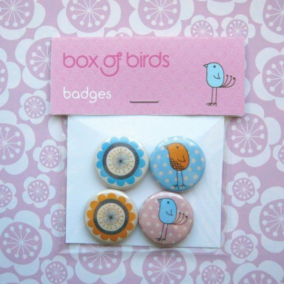 Spring Time Badges\/Pinback Buttons
