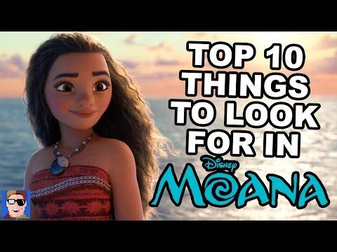 Top 10 Things To Look For In Moana - YouTube