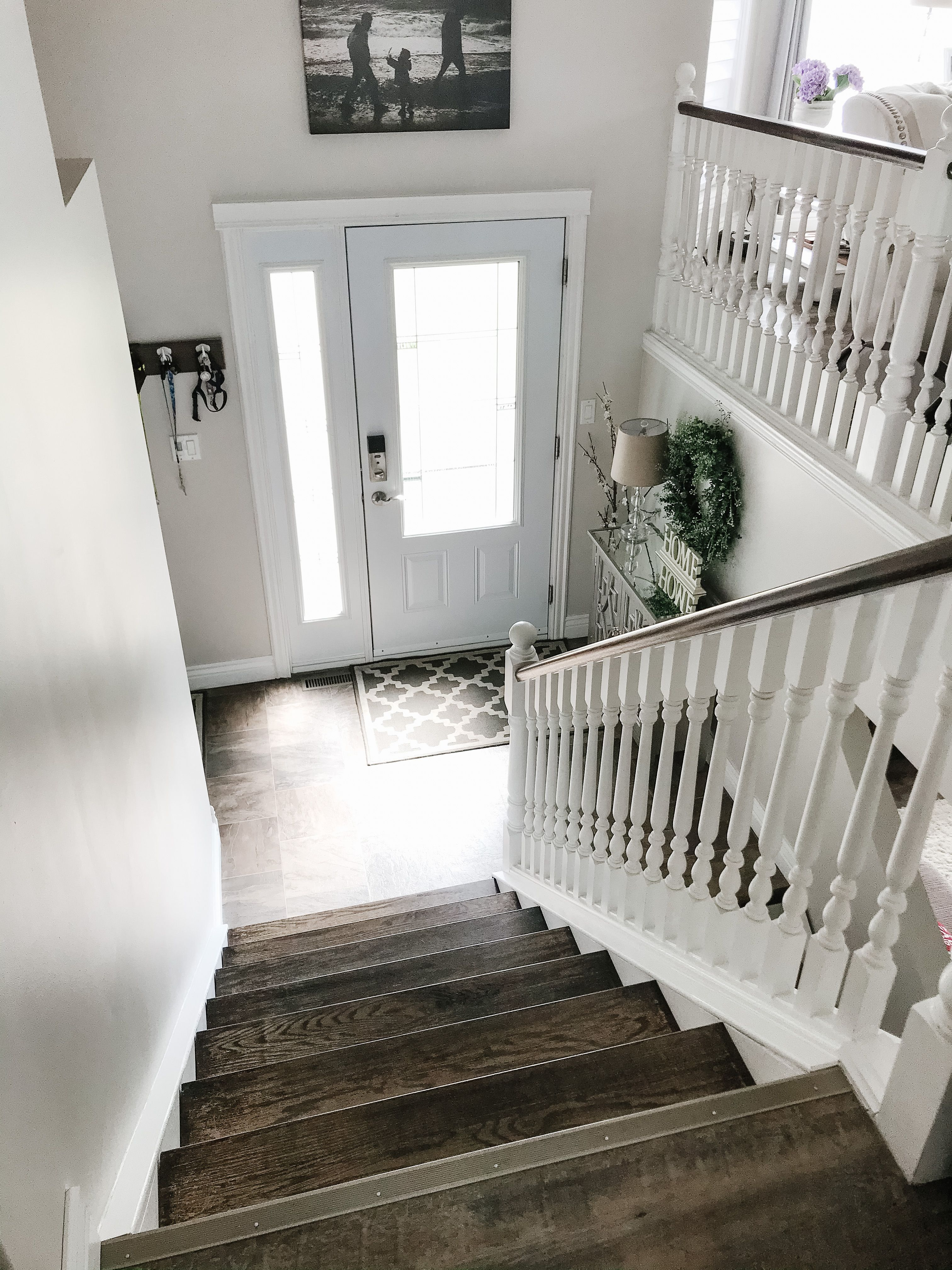Entry Way   Split foyer remodel, Bi level homes, Home