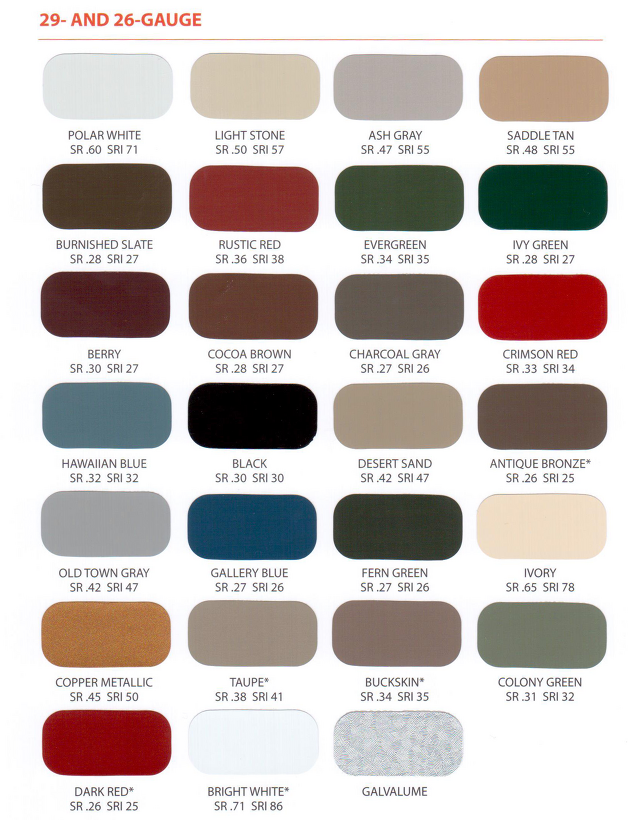 Best Victory Metal Roofing Colors We Picked Galvalume In 640 x 480