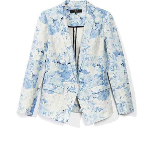 Tibi: Daisies Jacket ($595) ❤ liked on Polyvore