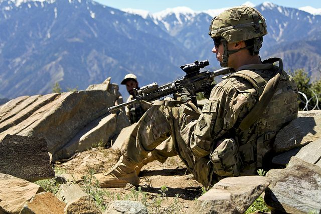 Observation Post  by The U.S. Army, via Flickr