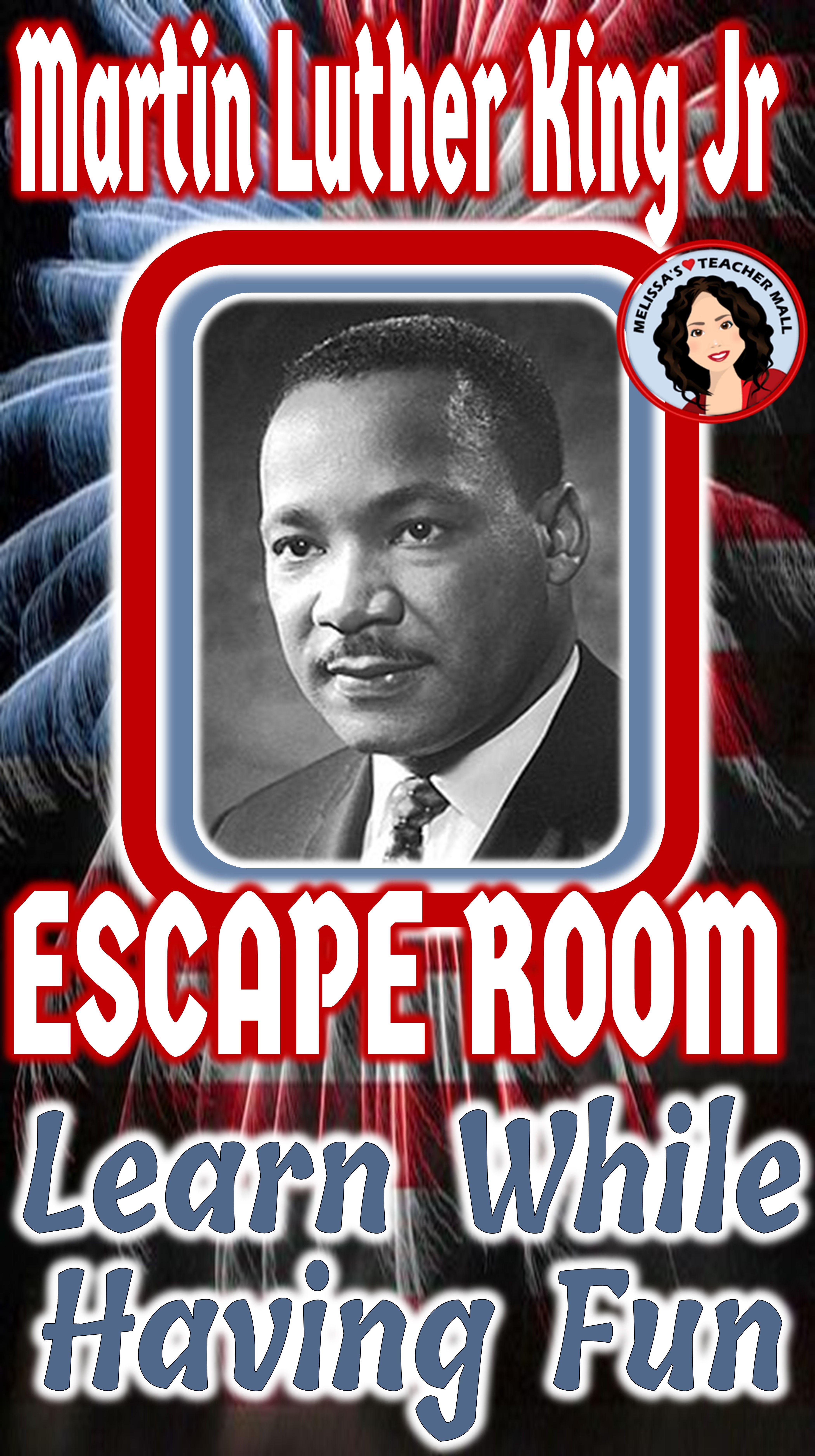 Black History Month Escape Room Martin Luther King Jr