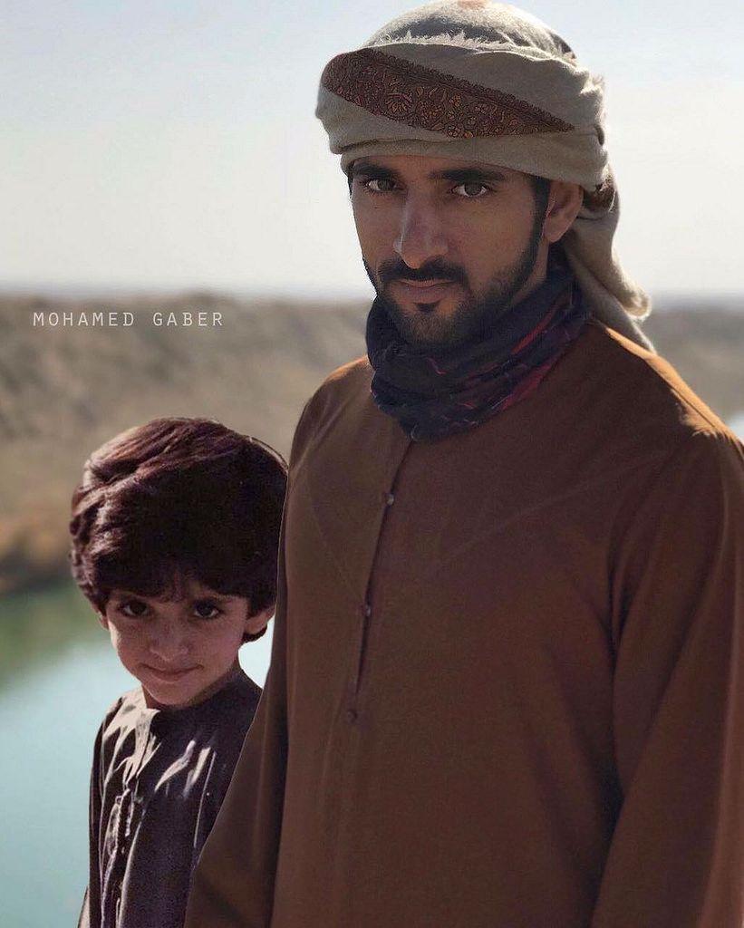 مابين الماضي والحاضر تصميمي لصاحب السمو حمدان بن محمد بن راشد آل