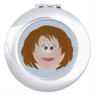 character compact mirror - Google Search