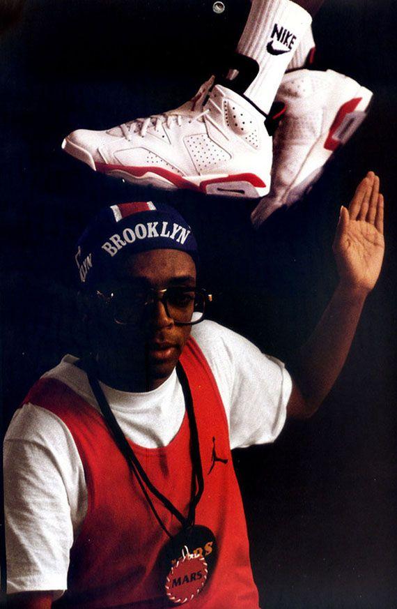 4bc2db2e188cf9 Michael Jordan + Spike Lee - Vintage Nike Air Jordan Ads ...