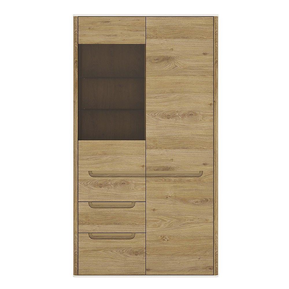 Dorset 2 Door 2 Drawer Glazed Display Cabinet | Almira | Pinterest