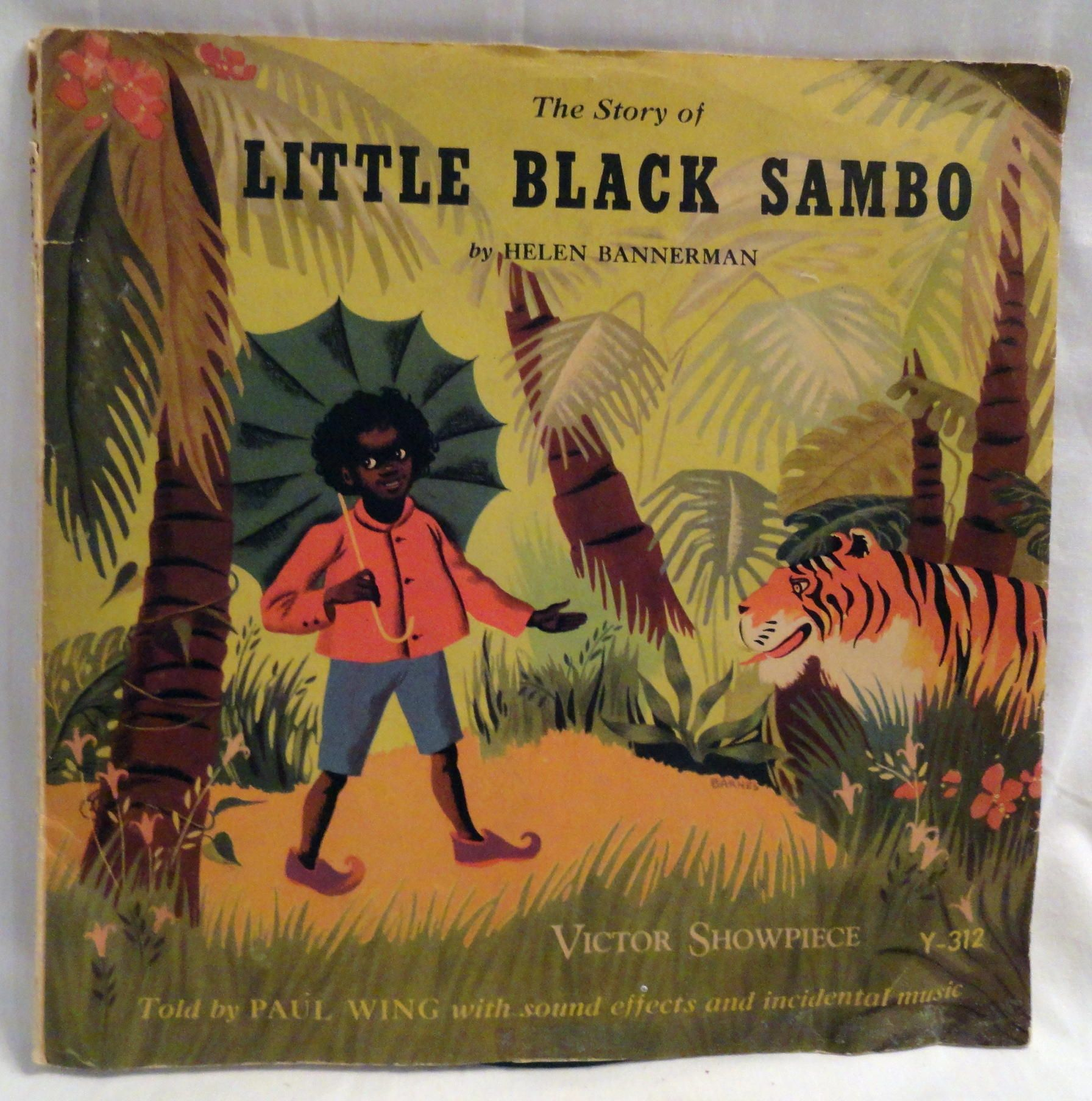 Little Black Sambo 78 record | The Past Is A Foreign ...