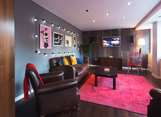 Meeting snug universal music group london by trifle creative office interiors - Universal music group office ...