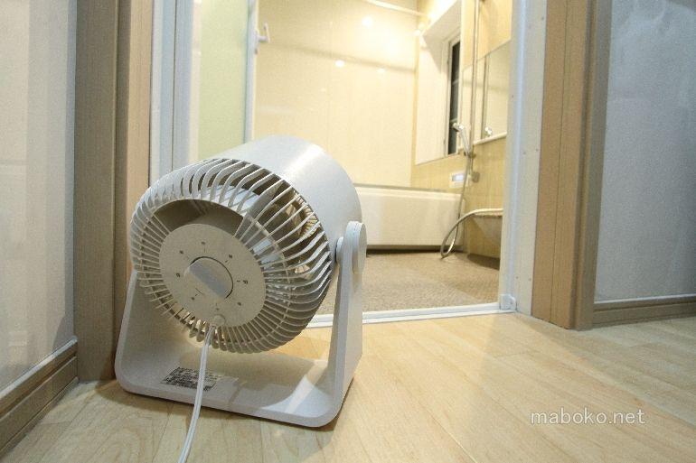 一条工務店の風呂は換気扇無しでもカビは発生せず掃除の手間も少ない