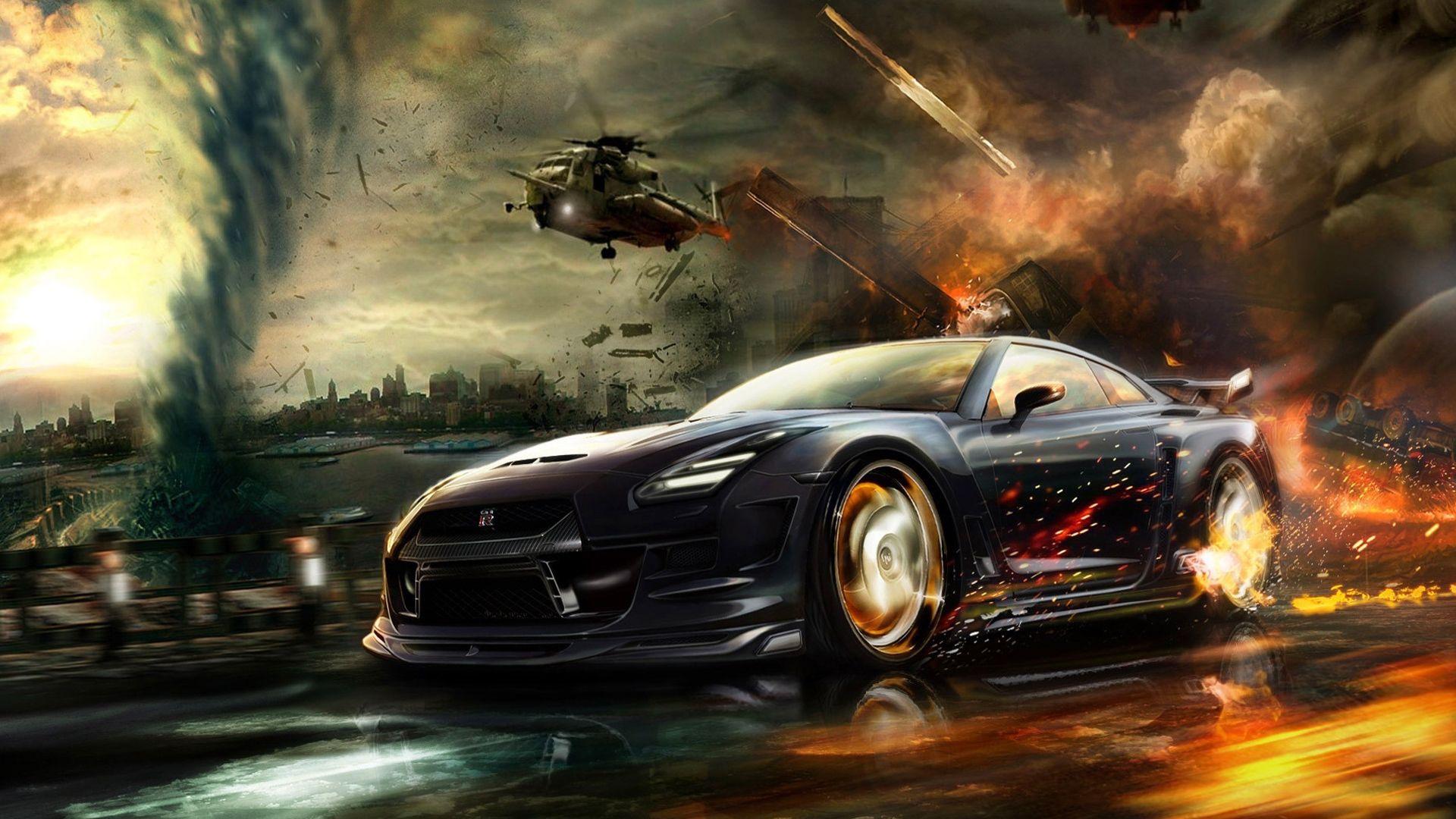 Racing Cars Wallpaper Mobile Nissan Gt R Carros Com Estilo