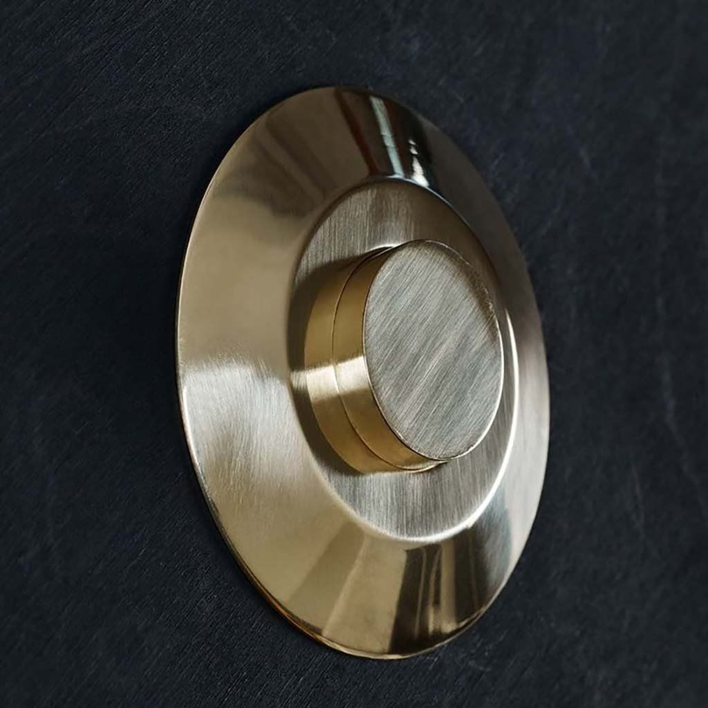 Push Button Toilet Flush Basic Flush Toilet Flush Polished Brass