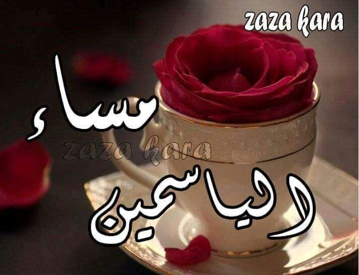 مساء الورد والفل والياسمين Good Evening My Favorite Things Arabic Love Quotes