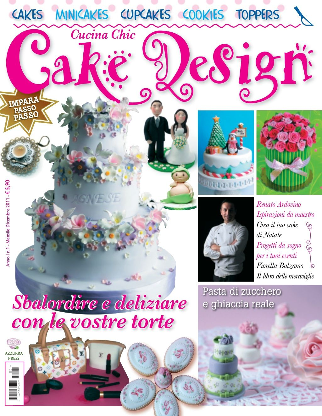 Cake design magazine nº 1 by Ana Tavares via slideshare ...