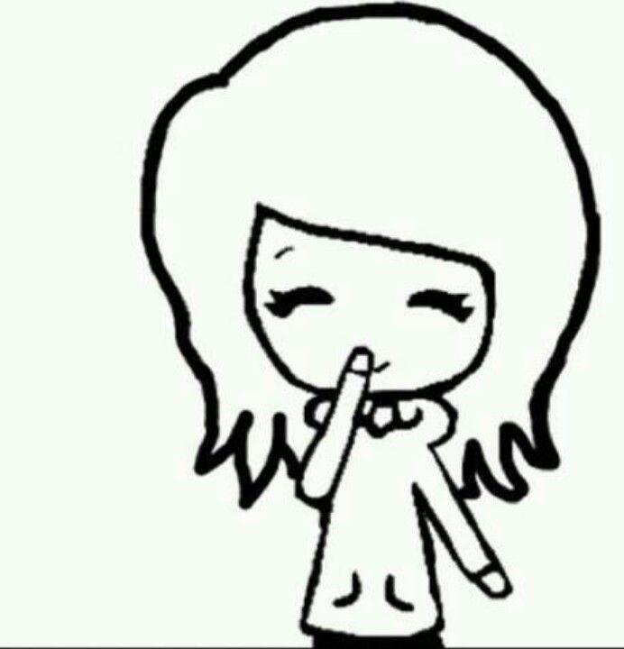 Short Hair Chibi Cute Kawaii Drawings Chibi Girl Cute Girl Drawing