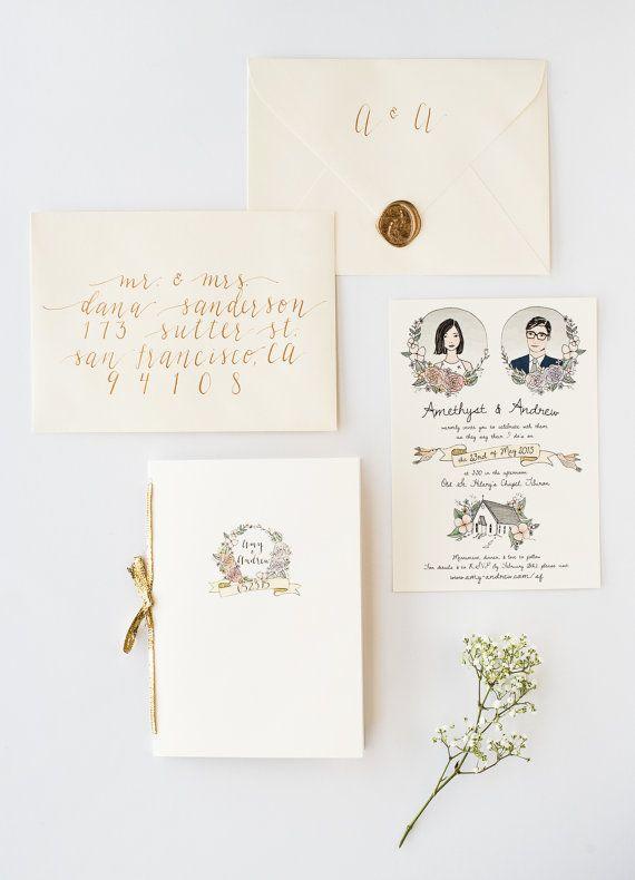 Invitaciones Ilustradas A Mano Para Contar La Historia De Su Dia Especial P Illustrated Wedding Invitations Hand Drawn Wedding Invitations Wedding Invitations