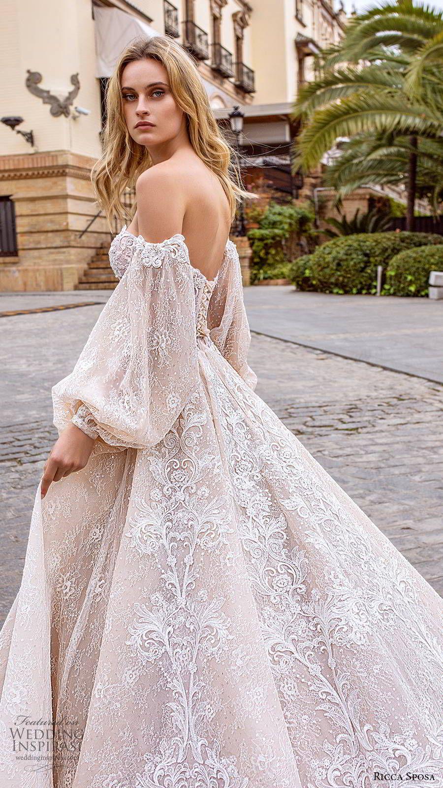 Ricca Sposa 2020 Wedding Dresses — Dell'amor Couture Bridal Collection   Wedding Inspirasi – Wedding dresses-(gelinlikler)