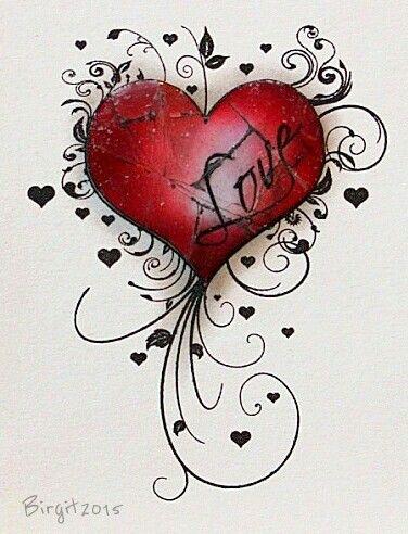 Love in my heart!