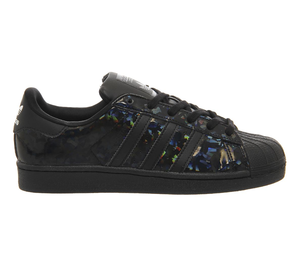 adidas Superstar 2 Holographic Black W