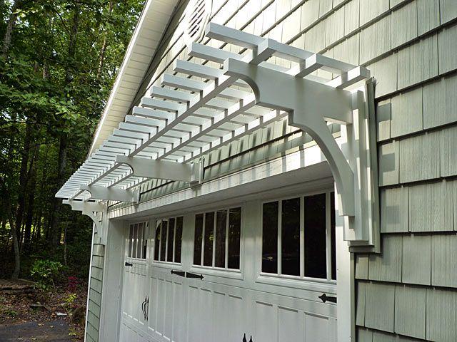 Trellis Above Garage Door Recent Customer Photos