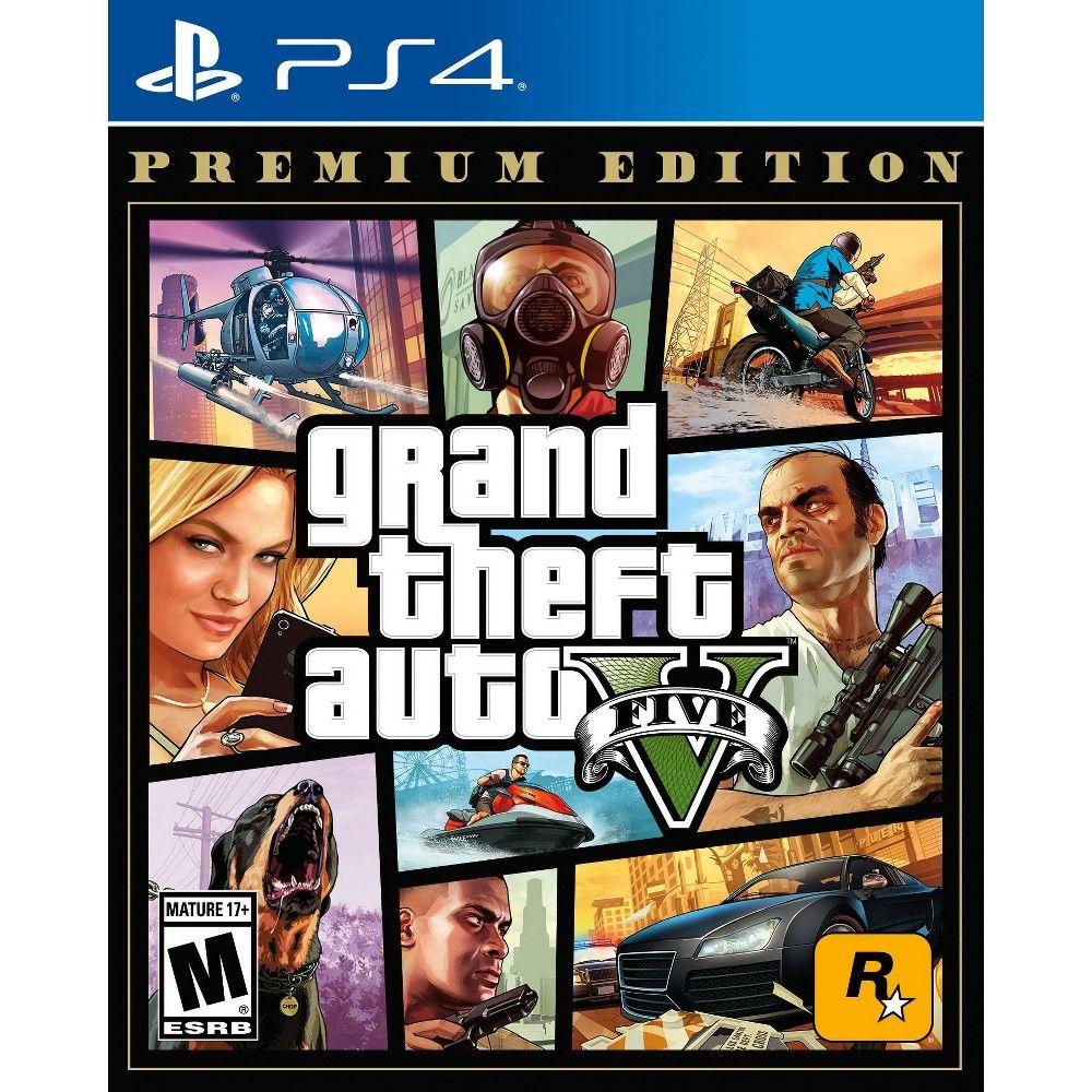 Grand Theft Auto V Premium Edition Playstation 4 Grand Theft