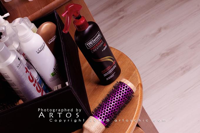 Tresemme Thermal Creations Heat Tamer Spray بخاخ ترسمي لحماية الشعر من الإستشوار Tresemme Spray Thermal