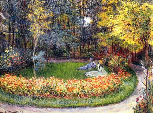 In the Garden - Claude Monet 1875