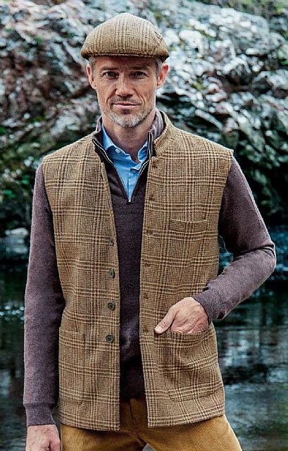 2864102647 Mens Harris Tweed Shooting Waistcoat - House of Bruar | Next vest ...