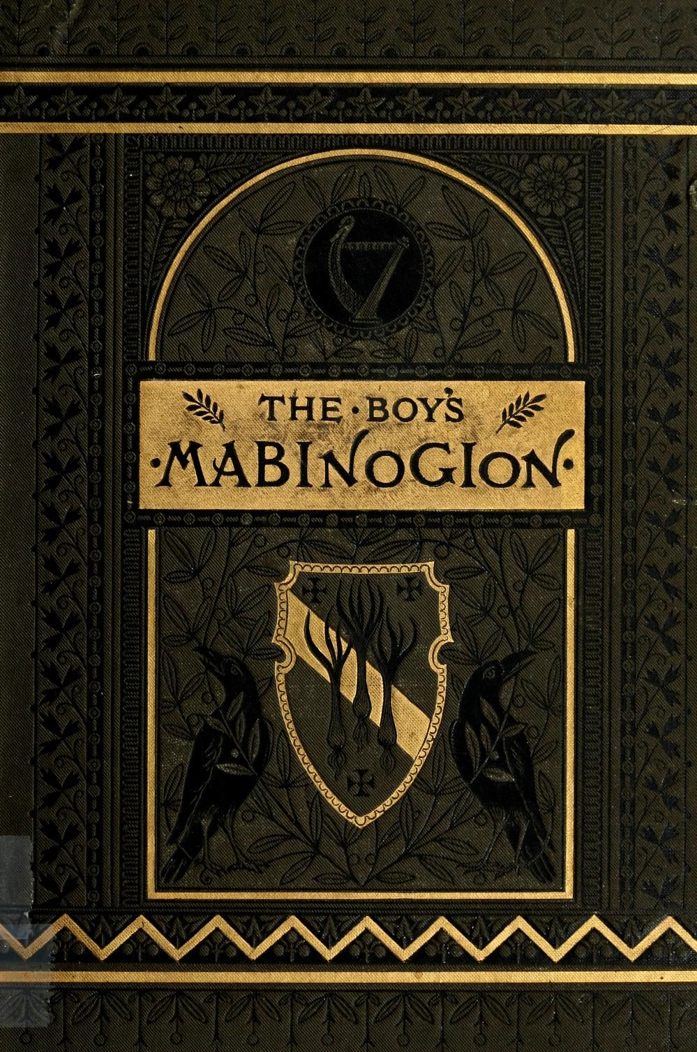 The boy's Mabinogion being the earliest Welsh Tales of King Arthur. Illutrated by Alfred Frederichs.  New York 1881