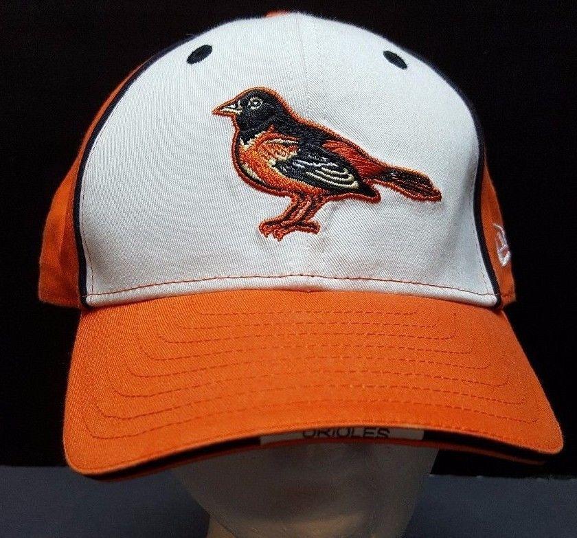 d5591bd258aa7 Baltimore Orioles Strapback Hat Cap Orange MLB Genuine Merchandise 98-08  Logo  NewEra  BaltimoreOrioles