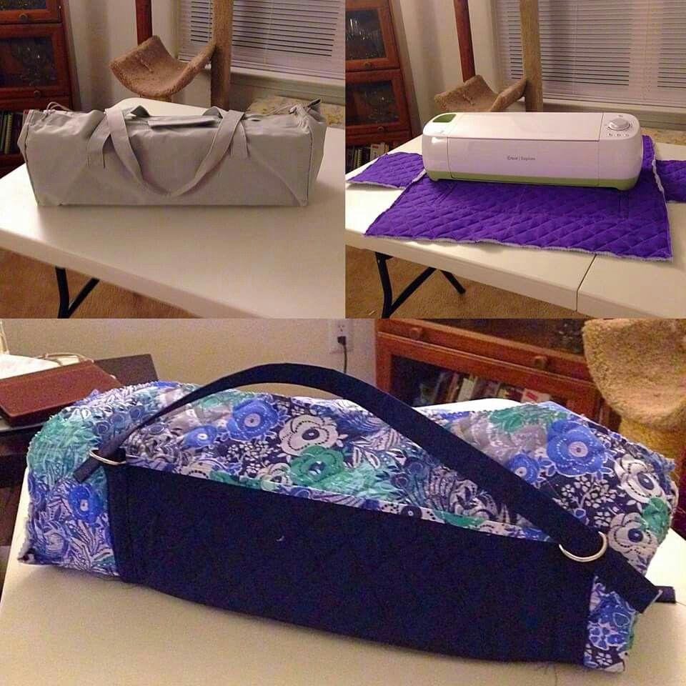 185327a3440c DIY cricut carrying case | sewing | Cricut, Cricut design, Sewing ...